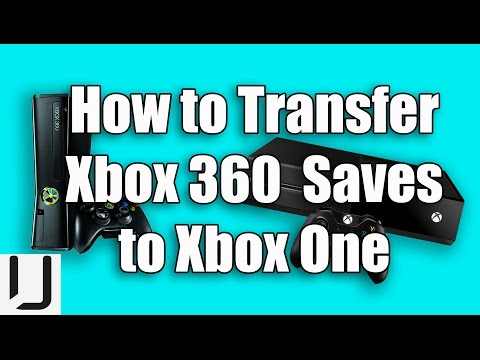 How to transfer Xbox 360 Game Saves to Xbox One for Backwards Compatibility