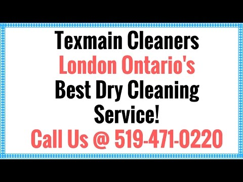 Texmain Cleaners - London Ontario Best Dry Cleaners! Call Us @ 519-471-0220