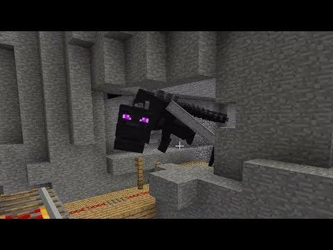 Enderdragon Minecart Chase! - Minecraft 1.5
