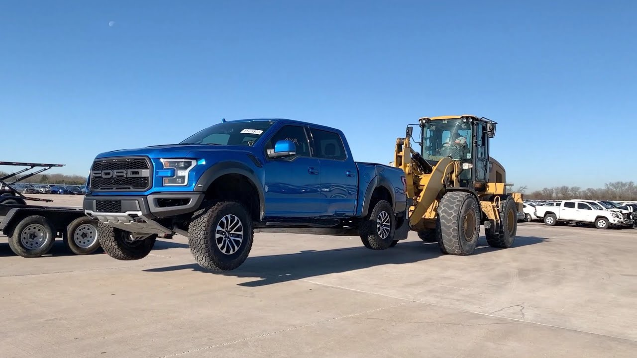 Picking Up @goonzquad Ford Raptor From Copart