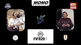 3ich l'game m3a Momo - Ajax Amsterdam Vs Uruguay