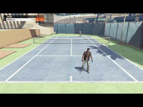 GTA 5 moments, TENNIS IS SO INTENSE !!!