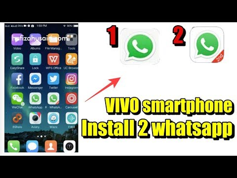 How to install 2 Whatsapp/Wechat accounts 2017