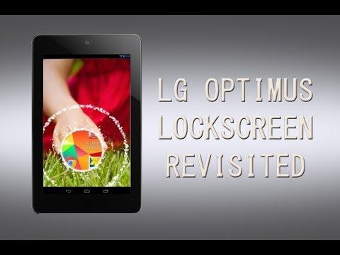 Android Appaholics (LG Optimus Lockscreen)