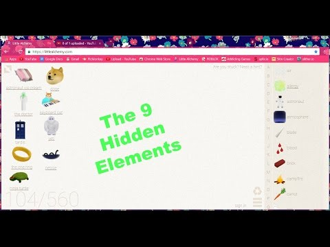 DOGE ~ Little Alchemy ~ 9 Hidden Elements