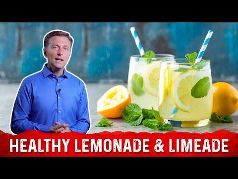 How to Make a Healthier Lemonade or Limeade