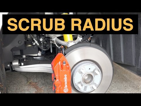 Scrub Radius - Suspension Design - Explained
