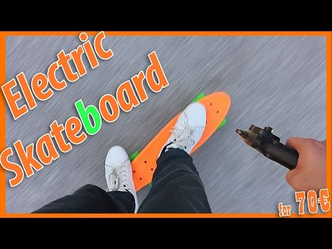 Electric pennyboard (Homemade for 70€)