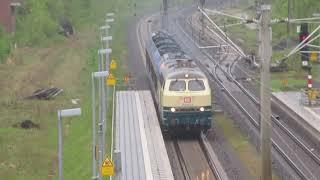 218 003 Mit Et Auf Dem Weg Vom Norden Nach Kassel