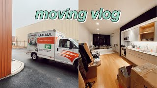 moving vlog #1: empty apartment tour & moving in | maddie cidlik