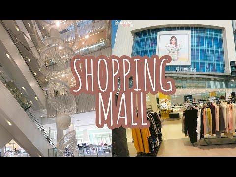 KOREA DIARY | SHOPPING AT HUGE LOTTE MALL!!