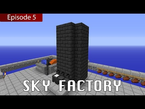 Minecraft Sky Factory: Episode 5 - Tinker's Construct Smeltery