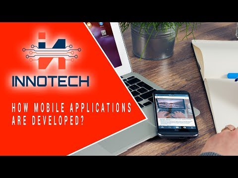 How mobile applications are developed? Innotech create mobile app android and iphone Custo