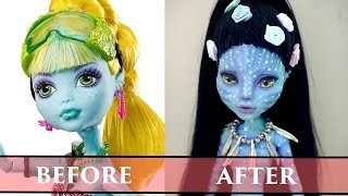 Work In Progress Avatar - Monster High Faceup How To Repaint A Doll