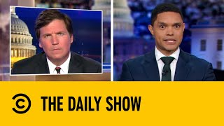 Tucker Carlson Downplays White Supremacy | The Daily Show with Trevor Noah