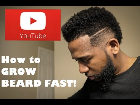 How to Grow A Thick Beard Fast!