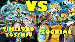 Real Life Yugioh - Timelord Yosenju Vs Zoodiac | November 2017 Scrub League