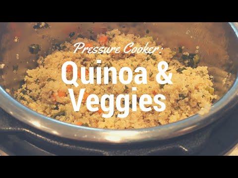 Cooking with Instant Pot | Quinoa & Veggies