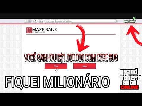 Aprenda a ganhar$1.000.000 SOZINHO com esse BUG de DINHEIRO no GTA 5 Online