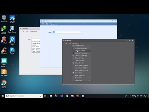 DevExpress Tutorial - Themes/Skins | FoxLearn