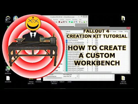 How to Create Custom Workbench Creation Kit Tutorial Fallout 4