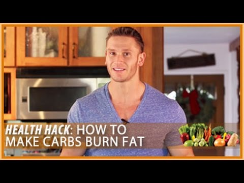 How to Make Carbs Burn Fat: Health Hack- Thomas DeLauer