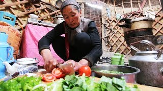 chinese yurt camping incredible tiny house yurt food in neverseen china silk road street food