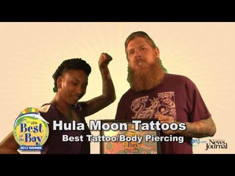 Hula Moon Tattoos