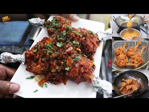 Chicken Lollipop Recipe - Restaurant Style Chicken Of Hotel Dream Zirakpur