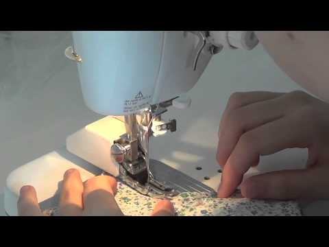 How to make a cloth menstrual pad with a sewing machine (part 2)
