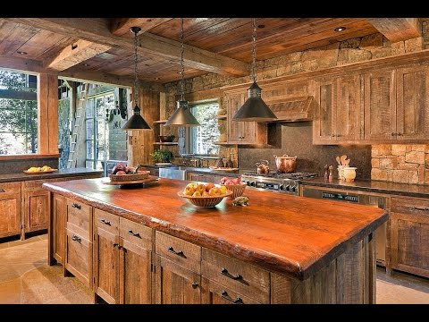 Reclaimed Wood Kitchen Cabinet Doors Ideas