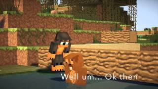 A Beaver And a Wolf | Minecraft Skit | Skit September Episode 1