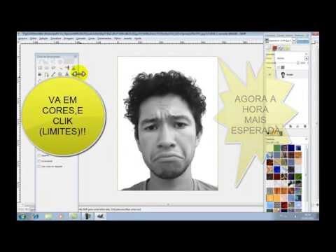 Stencil no GIMP,como fazer!!!