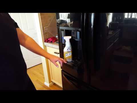 LG Refrigerator Drip Tray Removal
