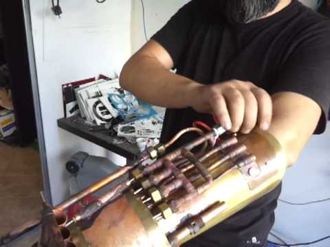 Working steampunk gauntlet