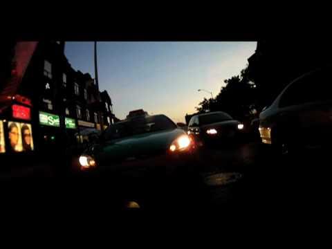 Dangerous BeckTaxi driver Licence Plate AZHX 783