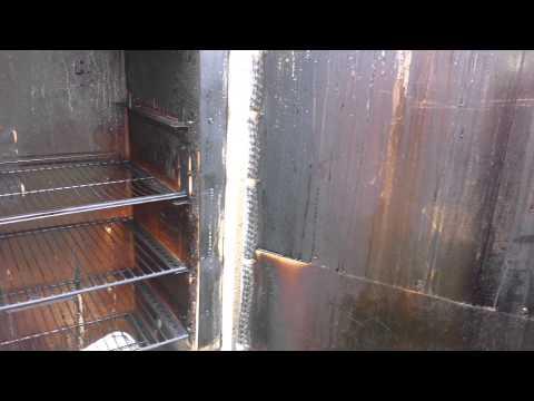 Refrigerator smoker 3