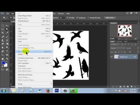 How to change color using magic wand tool in Photoshop