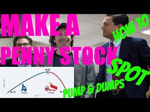 How To Make A Penny Stock Company & How To Spot a PUMP & DUMP – Penny Stock Trading explaining