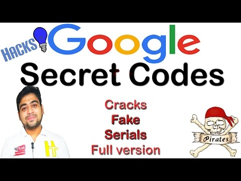 How to Find || Any Software's || Serial Keys || Cracks || Patch || Google Secret Codes ||Hindi