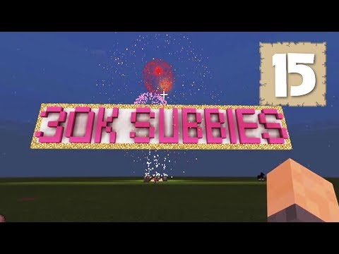 30K SUBSCRIBERS & THE SUPER SMELTER ROOM!! - Survival Let's Play Ep. 15 - Minecraft 1.2