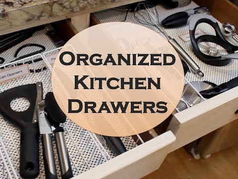 No-Fail Kitchen Drawer Organization! {Dollar Tree}