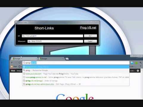VB.net - Short-Links - Réducteur de liens web