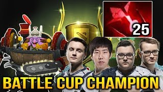 Miracle Team LIQUID Timbersaw 25 Blood Stone Charges BATTLE CUP Dota 2