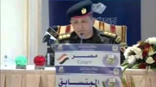 ظابط بالجيش المصرى فى مسابقة القرآن الكريم للعسكريين