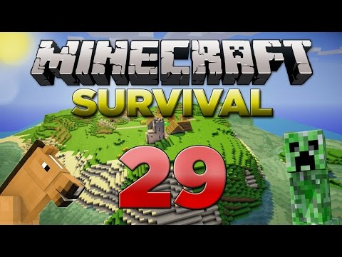 Minecraft Xbox: Survival Lets Play - Part 29 [XBOX 360 EDITION] Fire Works - W/Commentary