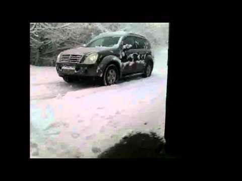 Tire pressure in snow 2.5 vs 0.5