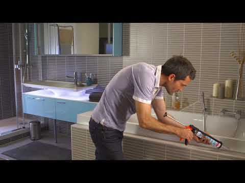 How-To Seal Your Bath Easily with UniBond Anti-Mould Sealant | B&M Stores