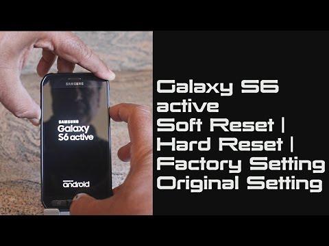 Samsung Galaxy S6 active Soft Reset | Hard Reset | Factory Setting | Original Setting