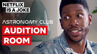 """Audition Room"" Full Sketch 